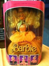 1989 Peach Pretty Barbie Special Ltd Ed 3 Outfits  Retired  NRFB  New Old Stock