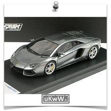 LookSmart 1/43 - Lamborghini Aventador 2011 gris métallisé