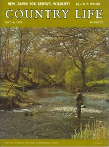 Country Life Magazine Heraldry Lotus Esprit Carlisle 4 May 1978 Birthday Gift