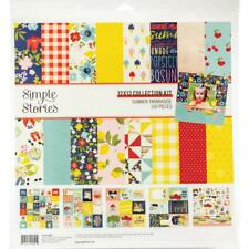 Simple Stories - Summer Farmhouse 12x12 Collection Kit #12600 Scrapbook