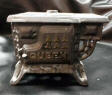 Toy 'Queen' Cast Iron Wood Stove - AS IS