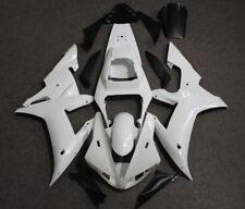 Fairing Kit for Yamaha YZF-R1 YZF R1 2002 2003 Unpainted White Injection Molded