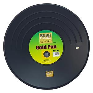 Gold Pan - Black 36cm Bush Tracks