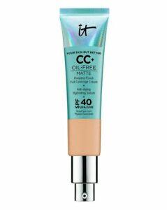 IT Cosmetics Your Skin But Better CC Matte Cream SPF40 Oil Free 32ml. - MEDIUM