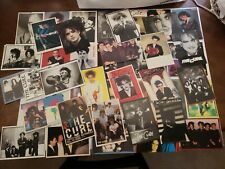 Large lot The Cure - Robert Smith postcards - 47 Total