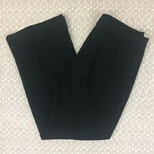 Talbots Hollywood Woman's Black High Waisted Dress Pants Size 10 P Petites F35