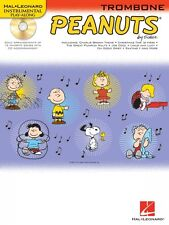 Peanuts for Trombone Instrumental Folio Book and Cd New 000842436