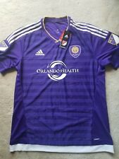 NWT Authentic Adidas ADIZERO Orlando City SC Purple Jersey Sz XL
