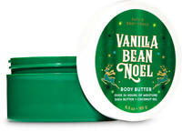$5 OFF *NEW* Vanilla Bean Noel 6.5 oz Body Butter Bath & Body Works SHIPS FREE!