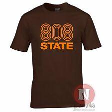 808 State DJ club music dance rave retro T-shirt edm festival Madchester