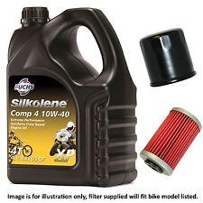 Suzuki SFV 650 L2 Gladius 2012 Silkolene Comp 4 XP Oil and Filter Kit