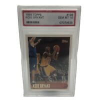 1996 Topps Kobe Bryant #138 Rookie RC LA Lakers Basketball PSA 10 Gem Mint