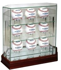Glass 9 Ball Baseball Display Case