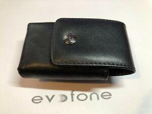 Genuine Motorola RAZR V3 Leather Mobile Phone Case / Pouch - Good Original