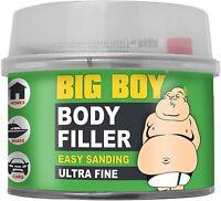 Big Boy Ultra Fine Easy Sand Body Filler For Car Boat Home Metal Wood 250ml