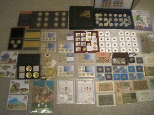 Sammlung Münzen und Medaillen, Banknoten, Numisbriefe, Münzsätze