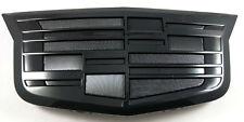 """New 8.5"""" CADILLAC 15-18 Escalade ESV Badge Logo Emblem Black ORNAMENT #23182045"""