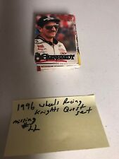 1996 NASCAR WHEELS RACING KNIGHTS QUEST SET 1-45 ONLY MISSING #22