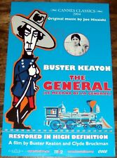 The General Buster Keaton silent movie train Marion Mack Small belgian Poster