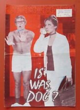 Is' was, Doc 1972, Barbara Streisand, Rayan O'Neal,  Neuer Film Kurier NR.73