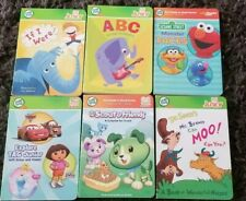 LOT 6 LEAP FROG TAG JUNIOR LEARNING SYSTEM BOOKS sesame abc seuss scout if were