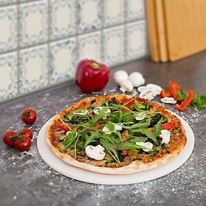 """CosmoGrill Pizza Baking Stone Ceramic 30 cm Diameter 12"""" Serving"""