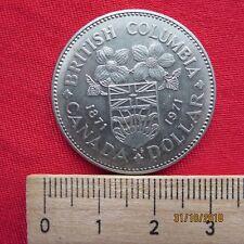 Kanada - Canada 1 One Dollar 1971 - British Columbia 1871-1971