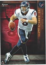 MATT SCHAUB HOUSTON TEXANS VIRGINIA CAVALIERS FATHEAD TRADEABLES 2012 #22