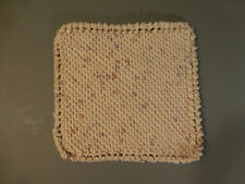 MAINE HAND CRAFTED Crocheted 100% Cotton Eco-Friendly Face Cloth Knit Dishcloth