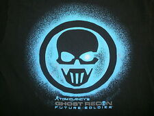 GHOST RECON FUTURE SOLDIER T SHIRT Tee Tom Clancy Skull Logo