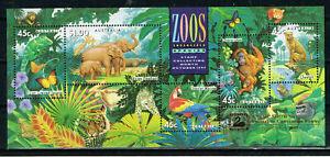 Australia Fauna Wild Animals Elephants Souvenir sheet 1994 MNH