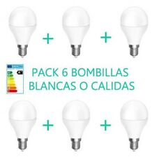 PACK 6 BOMBILLAS 4W LUZ BLANCA O CALIDA E14 BOMBILLA LED OSSUN AHORRO ENERGIA