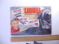 1950 LIONEL TOY TRAINS GOLDEN ANNIVERSARY COLOR CATALOG 44 pp. 30 models VG+