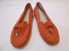 Luftpolster Women Loafers Casual Slip On Walking Comfort Shoes Size 6.5 Orange