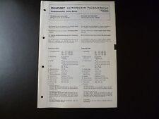 Original Service Manual Blaupunkt Autoradio Frankfurt Stereo 7630642