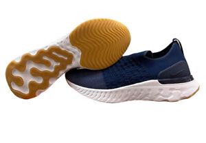 Nike React Phantom Run Flyknit 2 College Navy Mens Size 11.5 CJ0277-401 No Box