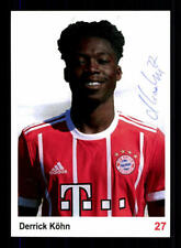Derrick Köhn Autogrammkarte Bayern München II 2017-18 Original Signiert
