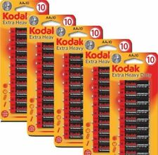 50 AA Kodak Batteries Extra Heavy Duty Strong Long Run Dura