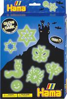 Glow In The Dark Hama Bead Set - Children's Midi 5mm Ironing Bead Craft Kit