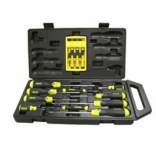 Stanley 65005A 16 Piece Screwdriver Set with Cushion Grip