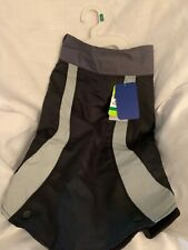 Top Paw 2 in 1 Black Dog Reflective Apparel/Coat  Size Large