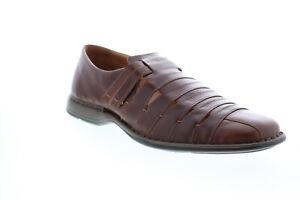 Josef Seibel Steven Dress Fisherman Mens Brown Loafers Casual Shoes