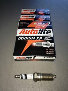 SIX(6) Autolite XP5863 Iridium Spark Plug SET *$3 PP FACTORY REBATE*