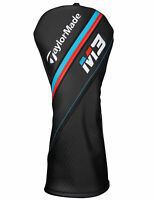 NEW 2018 TAYLORMADE M3 FAIRWAY WOOD HEADCOVER BLACK/RED/BLUE