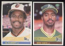 BUY 1, GET 1 FREE - 1984 DONRUSS BASEBALL - YOU PICK #201 - 400 - FREE SHIPPING
