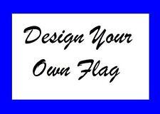 Custom BRUSH font Safety Flag for ATV UTV dirtbike JEEP Bicycle  Dune Whip Pole