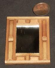 MexicanWood Mirror Hacienda Furniture 1:12 #MAF2207 Miniature Hand Carved