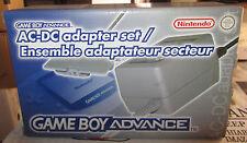 Nintendo Gameboy Advance GBA Game Boy AC-DC Adapter Set SPESE GRATIS