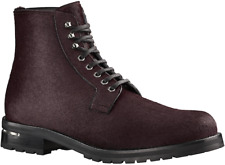 Louis Vuitton's Men's Exodus Ankle Boot in Pony-Styled Calf Leather Size 8.5