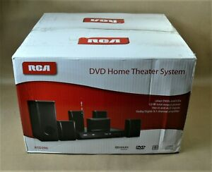 RCA DVD Home Theater System CD Player RTD396 W/ Remote 5 Speakers and Sub